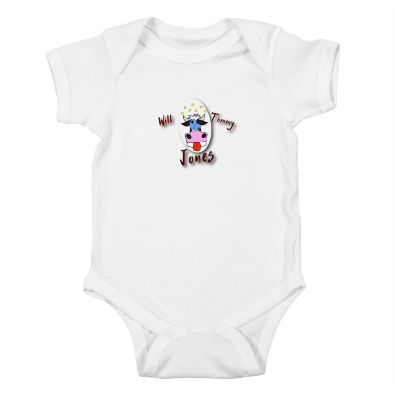 Nutty Cow Tee Kids Baby Bodysuit by Will's Buckin' Stuff