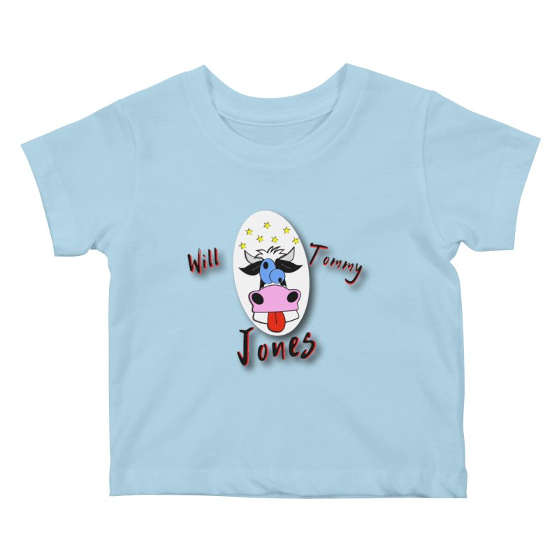 Nutty Cow Tee Kids Baby T-Shirt by Will's Buckin' Stuff