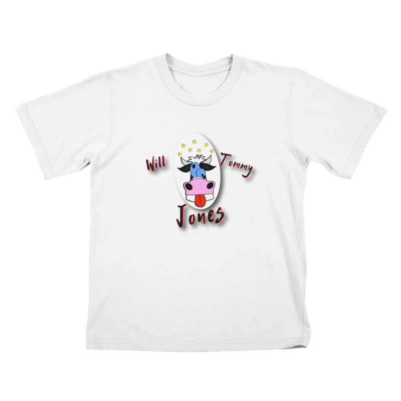 Nutty Cow Tee Kids T-Shirt by Will's Buckin' Stuff