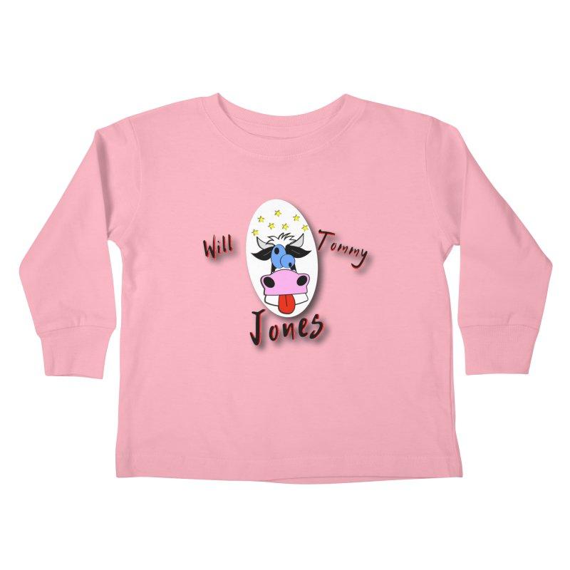 Nutty Cow Tee Kids Toddler Longsleeve T-Shirt by Will's Buckin' Stuff