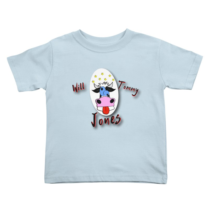Nutty Cow Tee Kids Toddler T-Shirt by Will's Buckin' Stuff