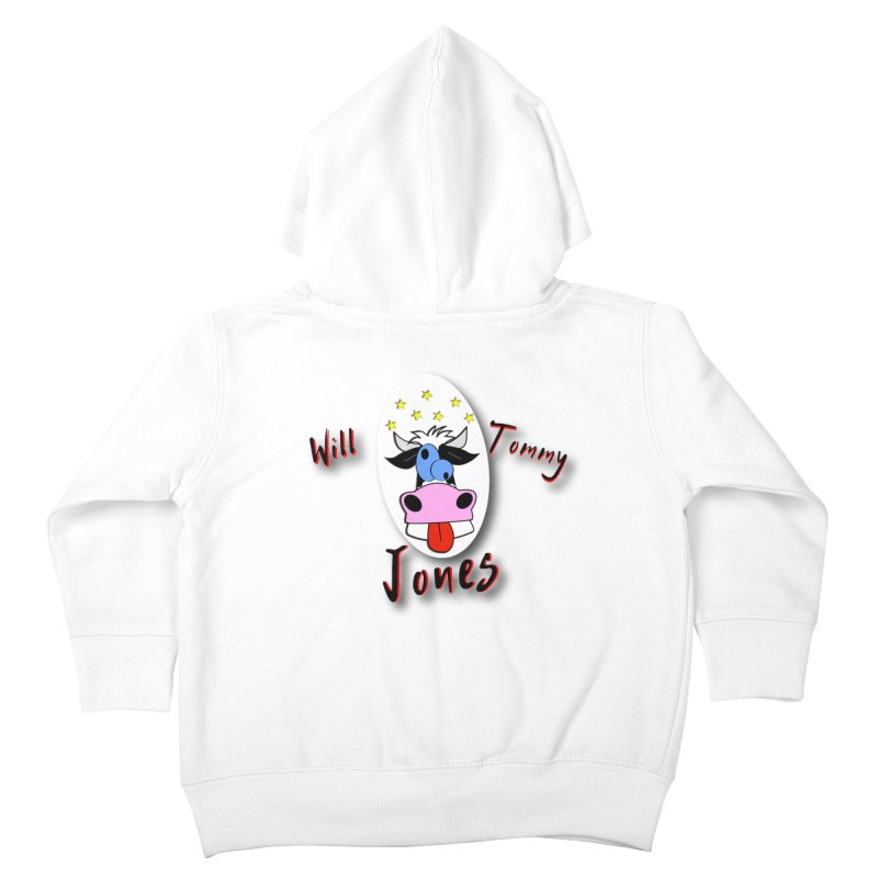 Nutty Cow Tee Kids Toddler Zip-Up Hoody by Will's Buckin' Stuff