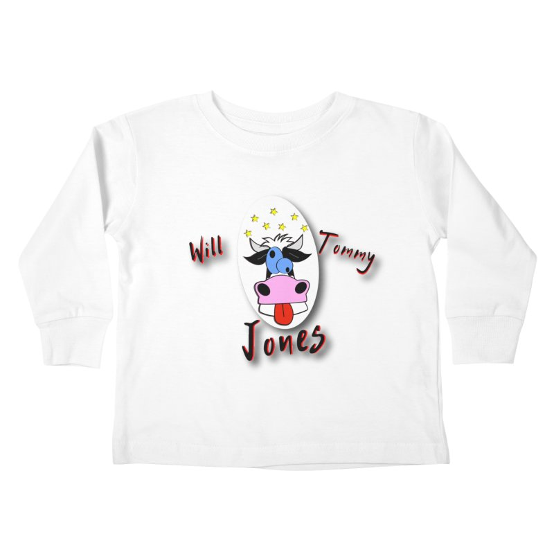 Nutty Cow Tee Kids Toddler Longsleeve T-Shirt by Will's Buckin' Stuff