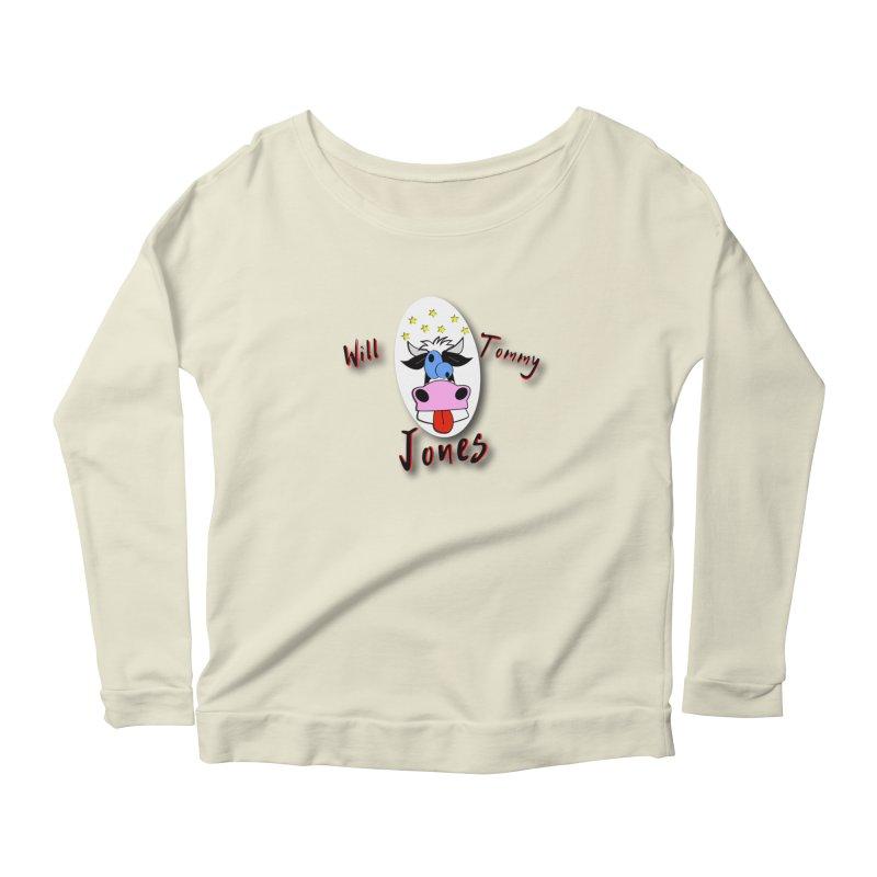 Nutty Cow Tee Women's Longsleeve T-Shirt by Will's Buckin' Stuff
