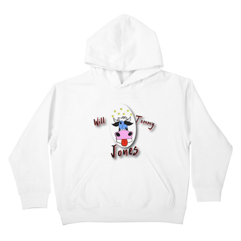 Nutty Cow Tee Kids Pullover Hoody by Will's Buckin' Stuff