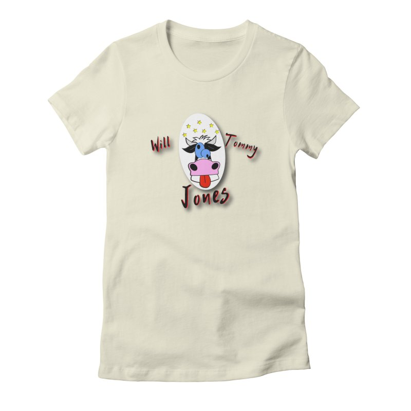 Nutty Cow Tee Women's Fitted T-Shirt by Will's Buckin' Stuff