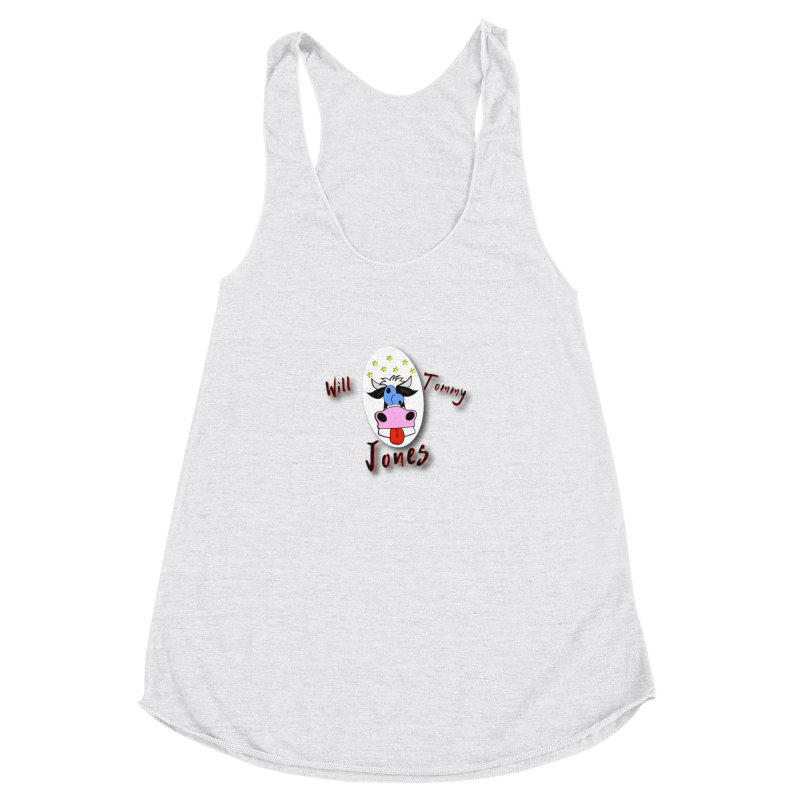 Nutty Cow Tee Women's Tank by Will's Buckin' Stuff