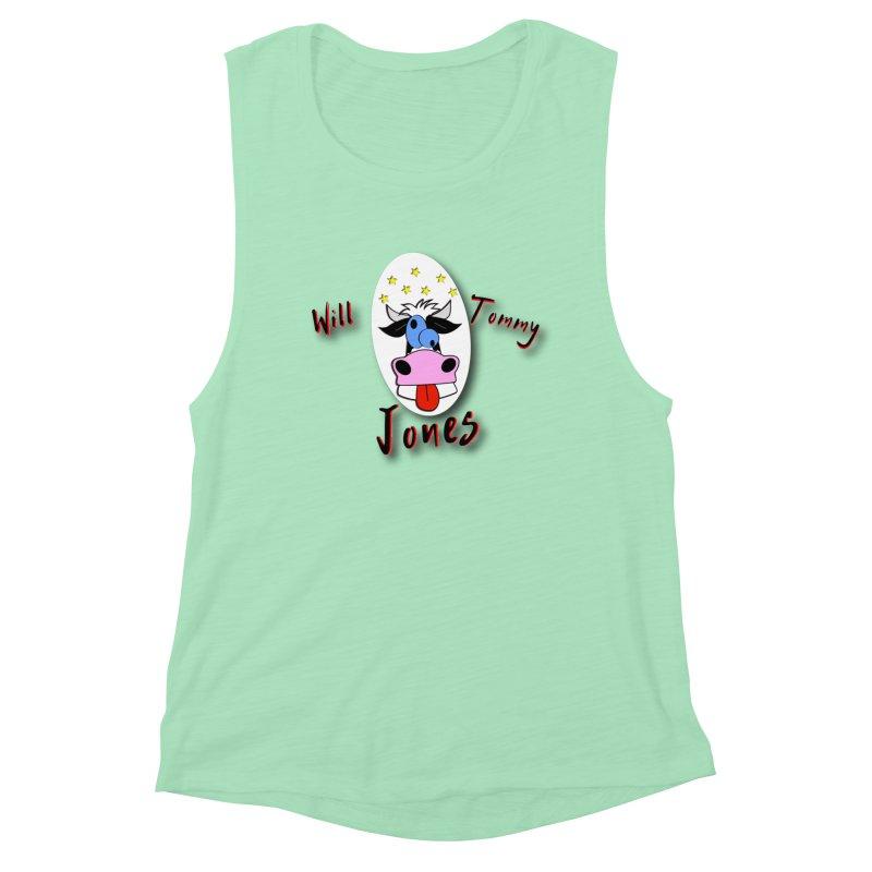 Nutty Cow Tee Women's Tank by Will's Buckin' Stuff