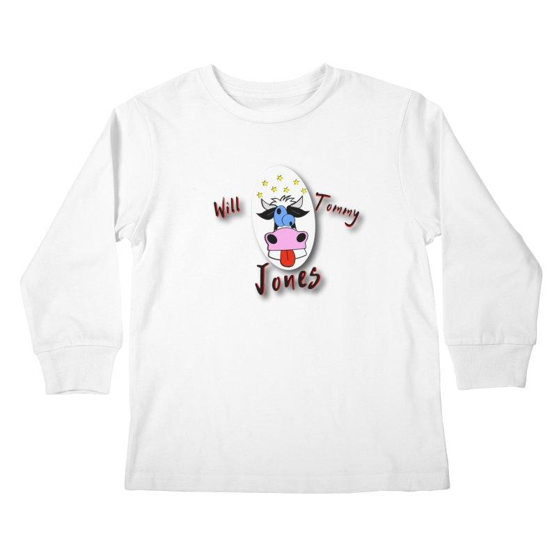 Nutty Cow Tee Kids Longsleeve T-Shirt by Will's Buckin' Stuff