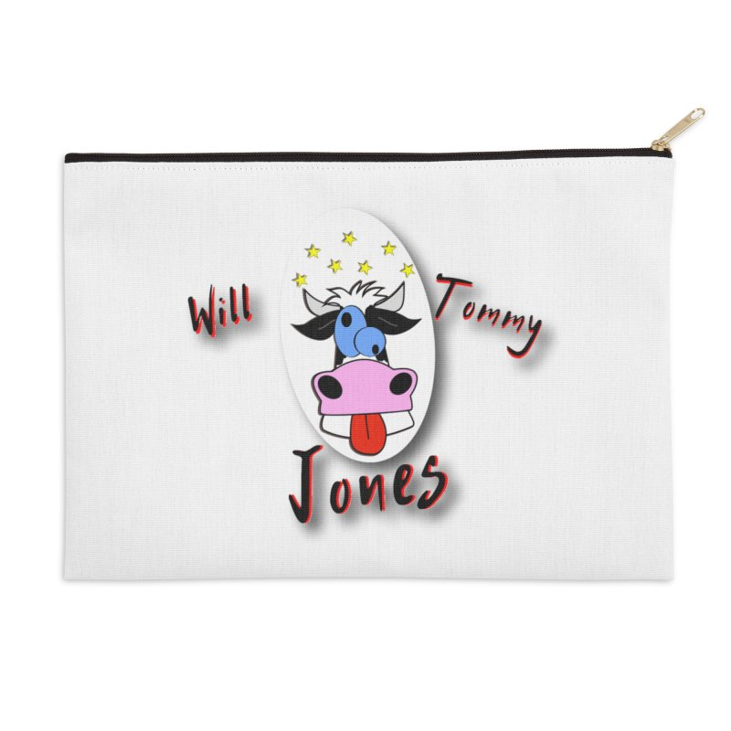 Nutty Cow Tee Accessories Zip Pouch by Will's Buckin' Stuff