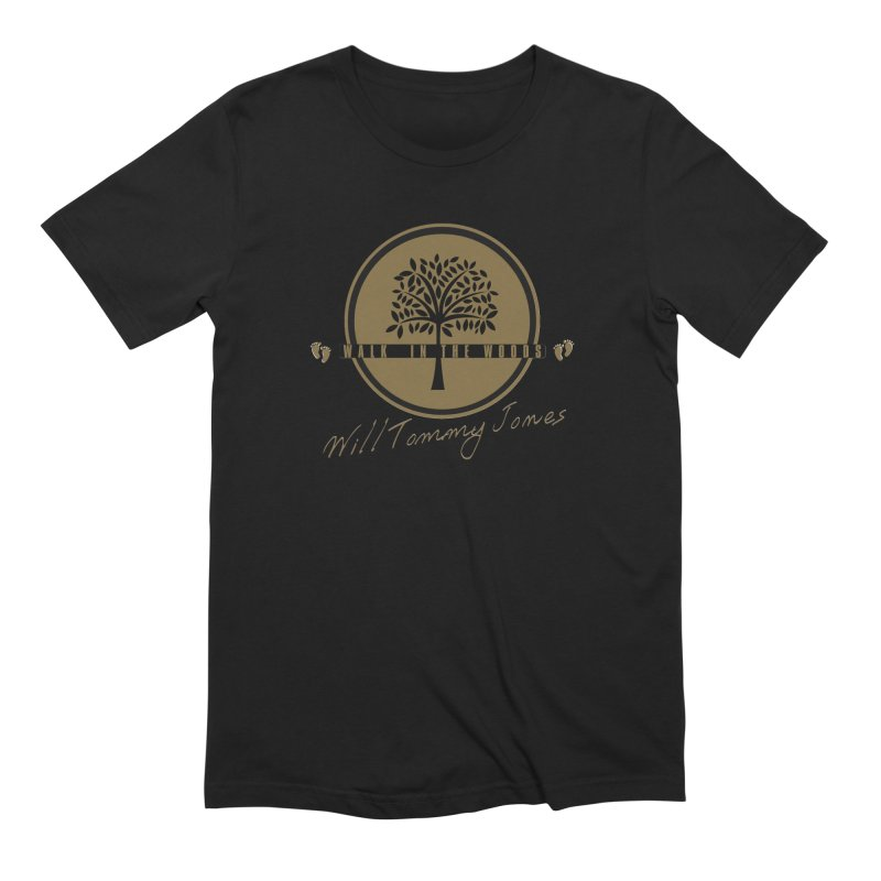 Walk In The Woods Album Products Men's Extra Soft T-Shirt by Will's Buckin' Stuff
