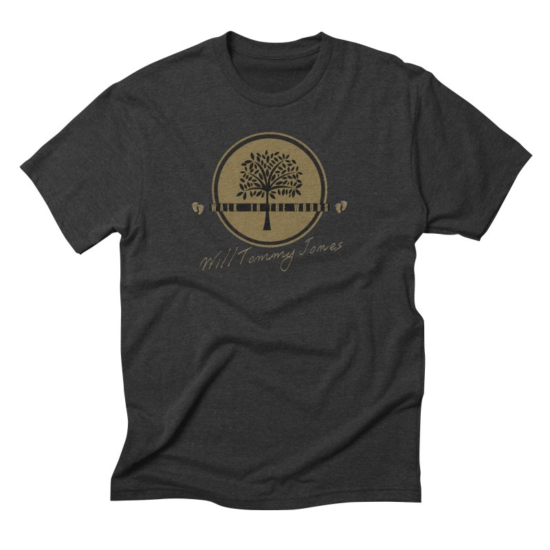 Walk In The Woods Album Products Men's Triblend T-Shirt by Will's Buckin' Stuff