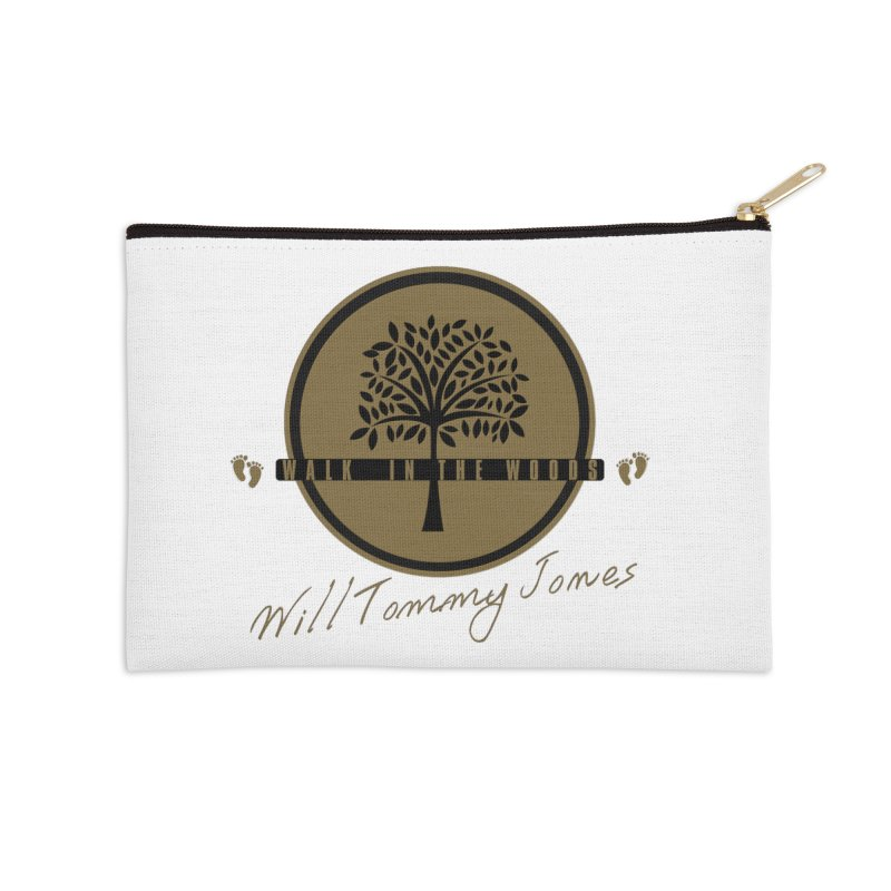 Walk In The Woods Album Products Accessories Zip Pouch by Will's Buckin' Stuff