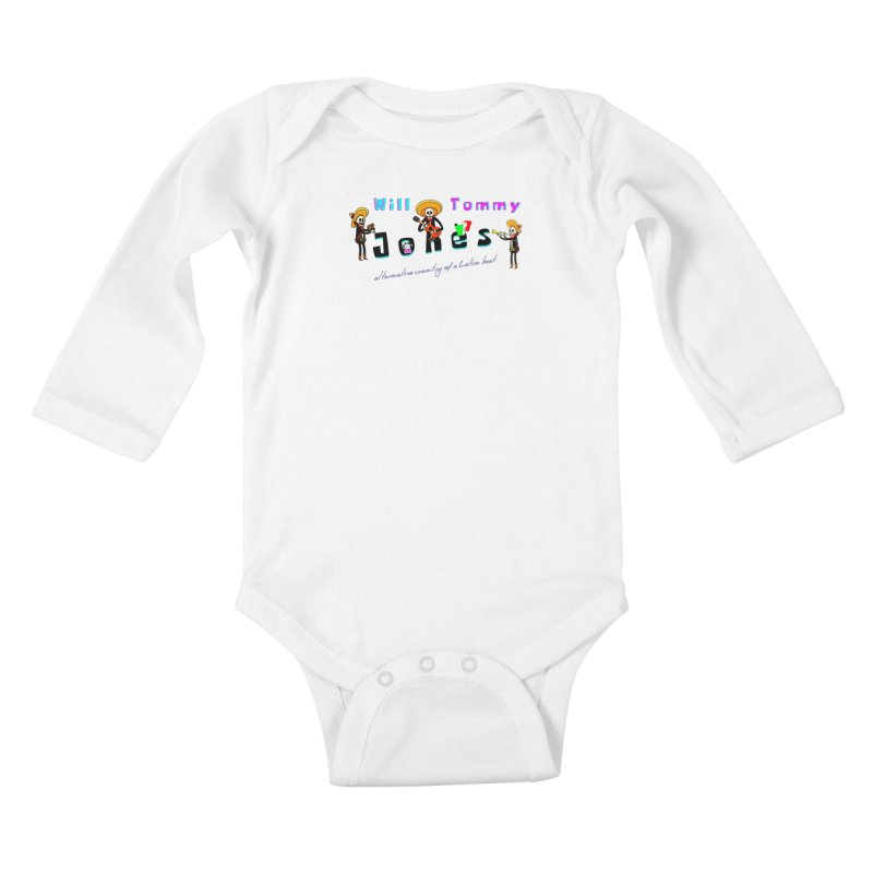 Mexi-Design Kids Baby Longsleeve Bodysuit by Will's Buckin' Stuff