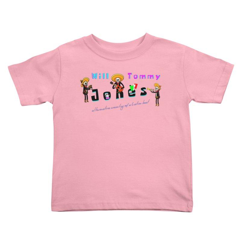 Mexi-Design Kids Toddler T-Shirt by Will's Buckin' Stuff