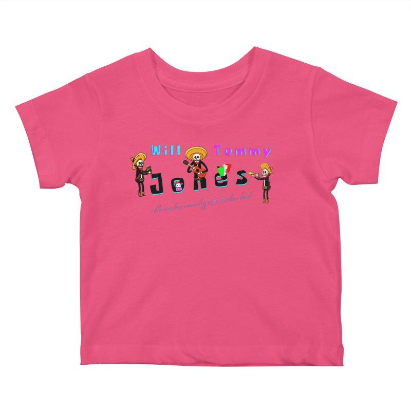 Mexi-Design Kids Baby T-Shirt by Will's Buckin' Stuff