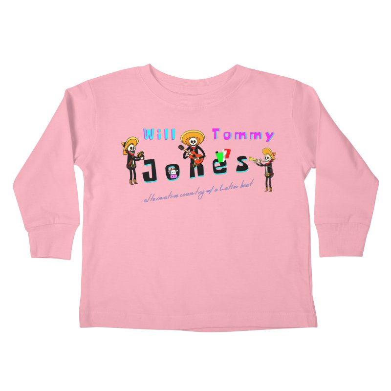 Mexi-Design Kids Toddler Longsleeve T-Shirt by Will's Buckin' Stuff