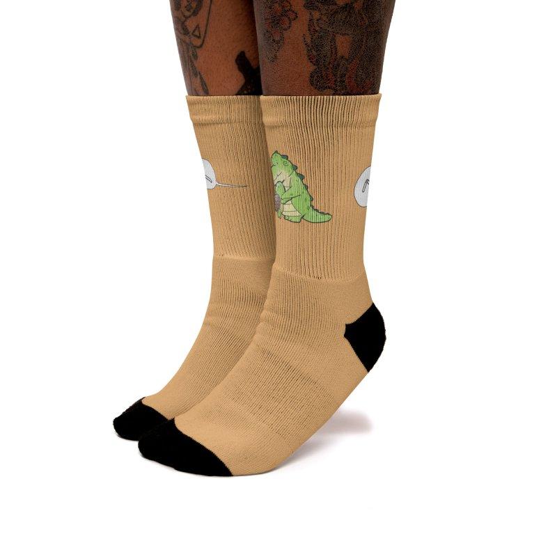 Buddy Gator - Nightmare, Turtle Women's Socks by Buddy Gator's Artist Shop