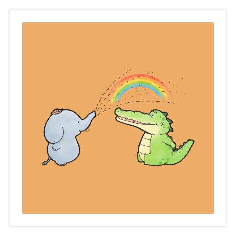 Buddy Gator - Have A Nice Day, Elephant Home Fine Art Print by Buddy Gator's Artist Shop