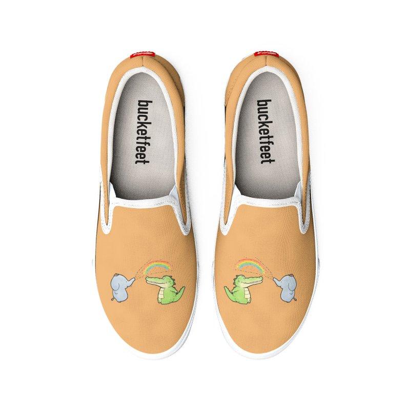Buddy Gator - Have A Nice Day, Elephant Women's Shoes by Buddy Gator's Artist Shop