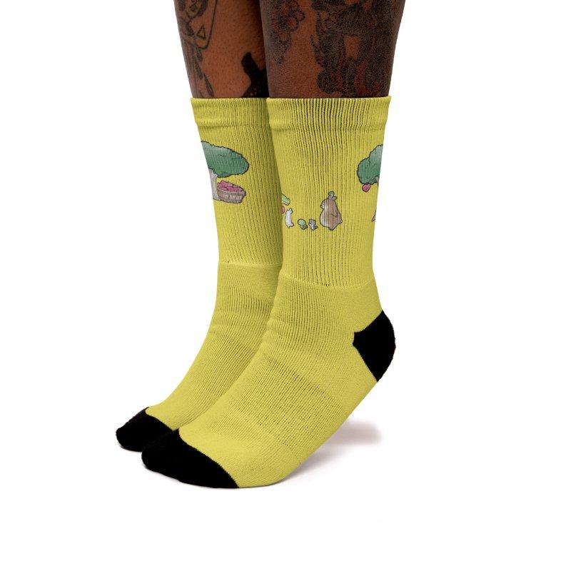 Buddy Gaor - Harvest, Love Women's Socks by Buddy Gator's Artist Shop