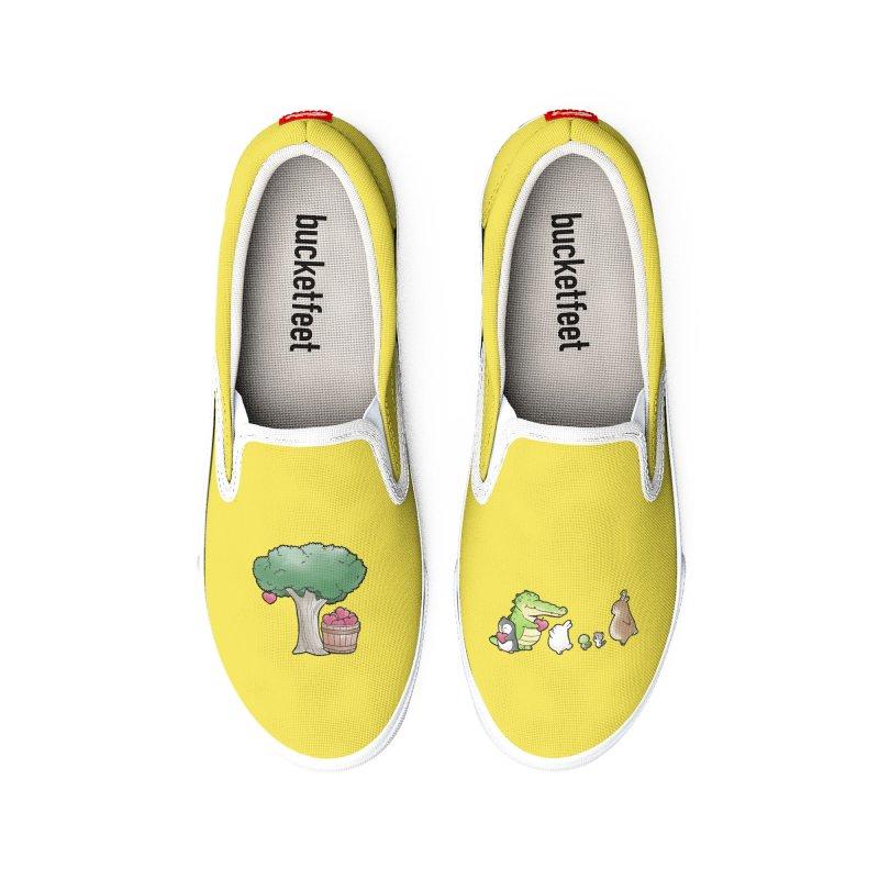Buddy Gaor - Harvest, Love Women's Shoes by Buddy Gator's Artist Shop