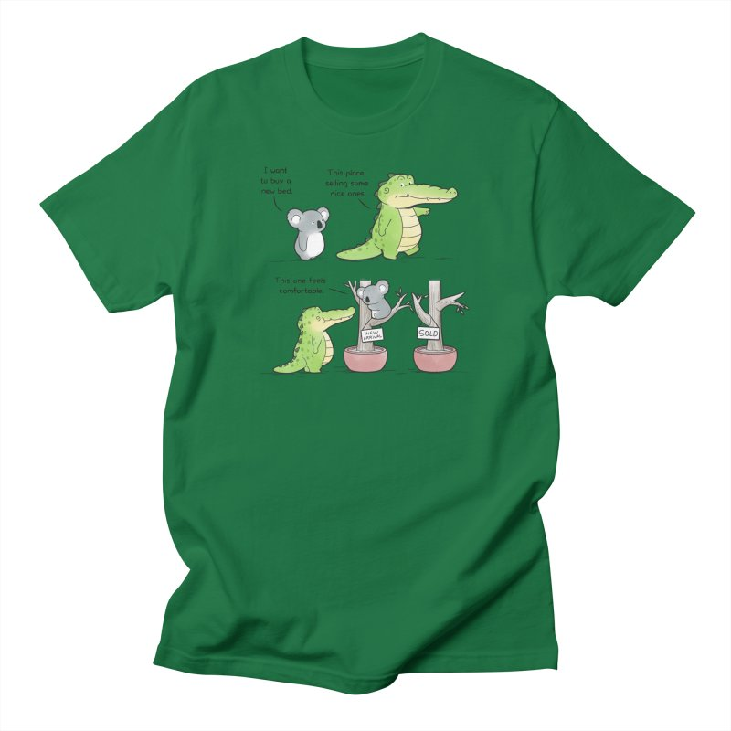 Buddy Gator - Shopping For A New Bed Women's T-Shirt by Buddy Gator's Artist Shop