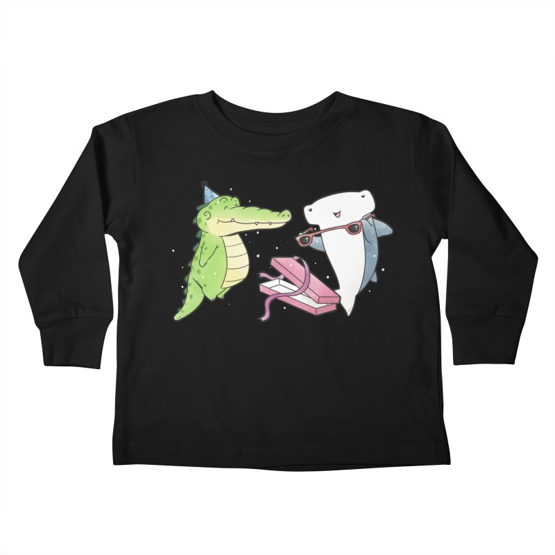 Buddy Gator - Birthday Gift, Shark Kids Toddler Longsleeve T-Shirt by Buddy Gator's Artist Shop