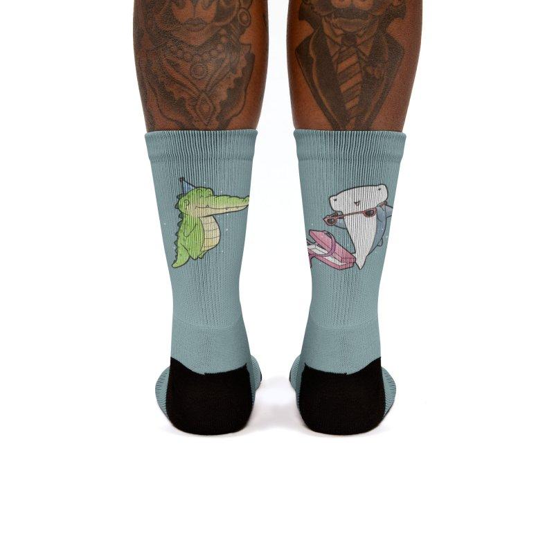 Buddy Gator - Birthday Gift, Shark Women's Socks by Buddy Gator's Artist Shop