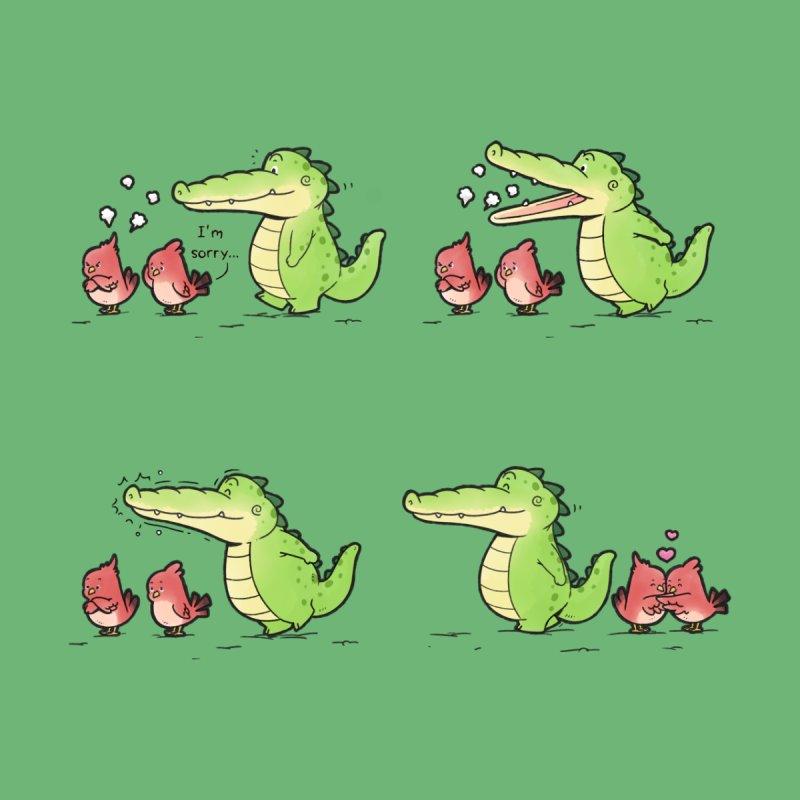 Buddy Gator - Calm Down Men's T-Shirt by Buddy Gator's Artist Shop