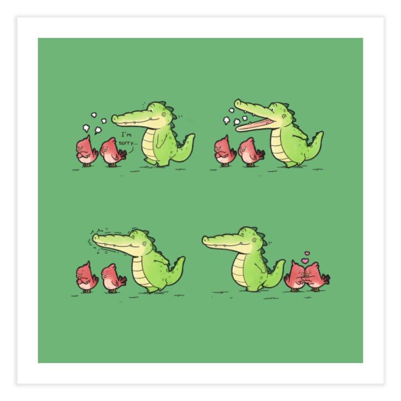 Buddy Gator - Calm Down Home Fine Art Print by Buddy Gator's Artist Shop