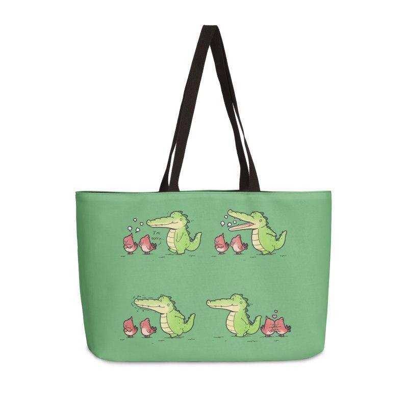 Buddy Gator - Calm Down Accessories Bag by Buddy Gator's Artist Shop