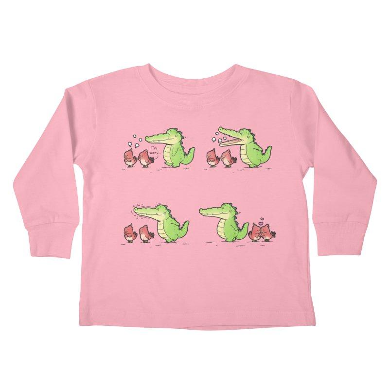 Buddy Gator - Calm Down Kids Toddler Longsleeve T-Shirt by Buddy Gator's Artist Shop
