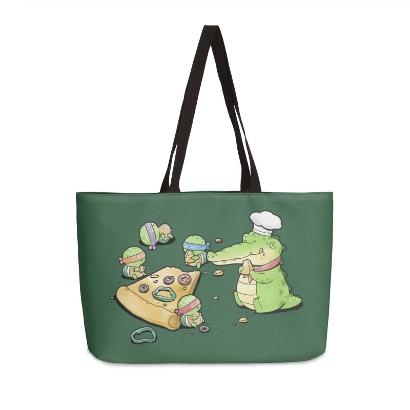 Buddy Gator - Pizza Lover Accessories Bag by Buddy Gator's Artist Shop