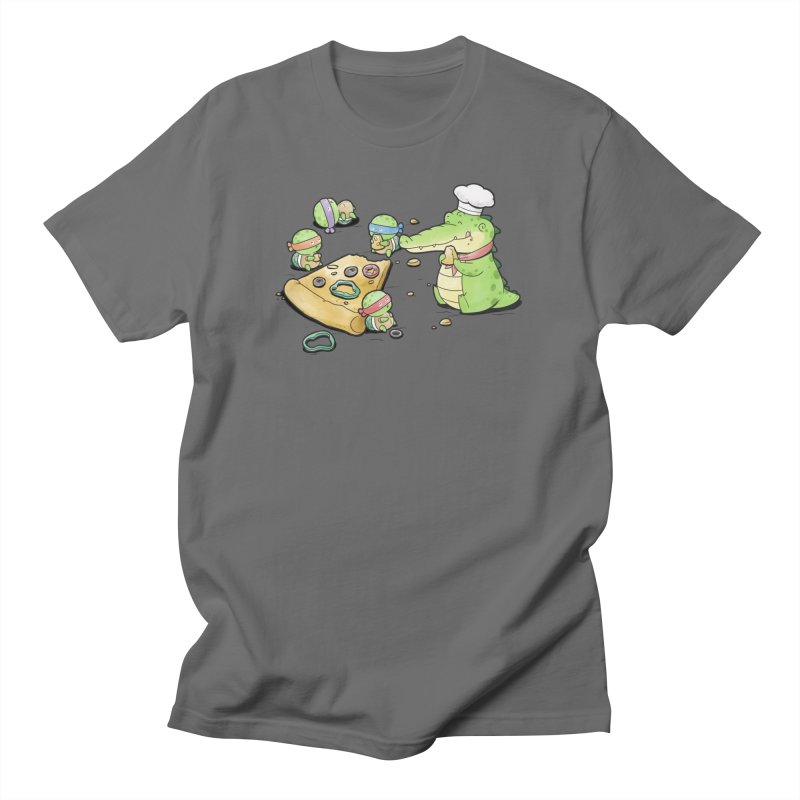 Buddy Gator - Pizza Lover Women's T-Shirt by Buddy Gator's Artist Shop