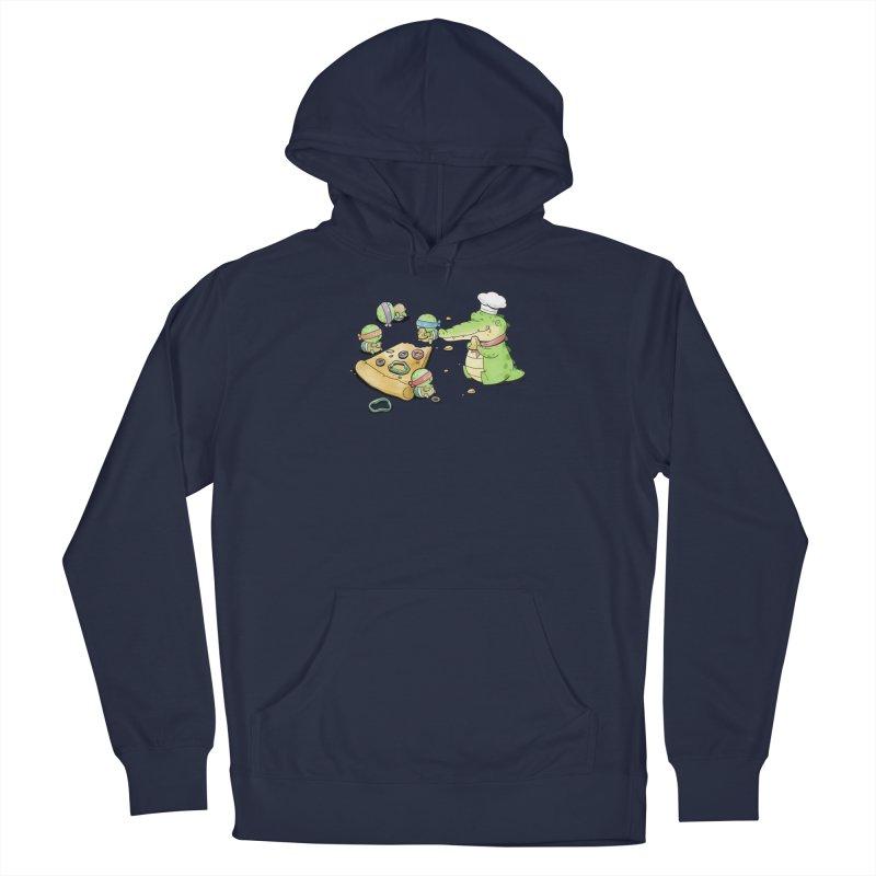 Buddy Gator - Pizza Lover Men's Pullover Hoody by Buddy Gator's Artist Shop