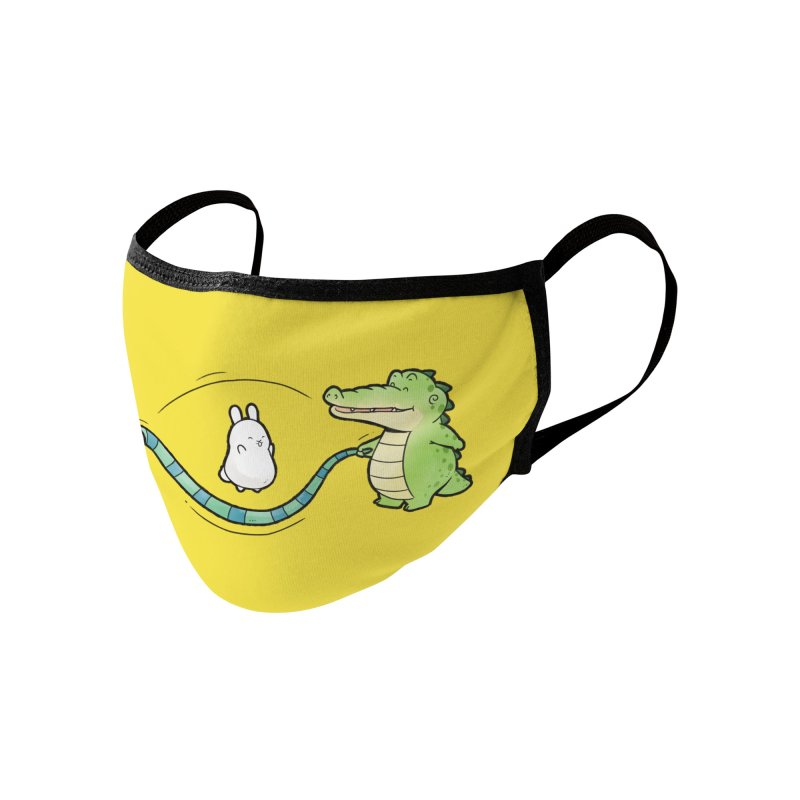 Buddy Gator - Jumping Rope, Snake Accessories Face Mask by Buddy Gator's Artist Shop