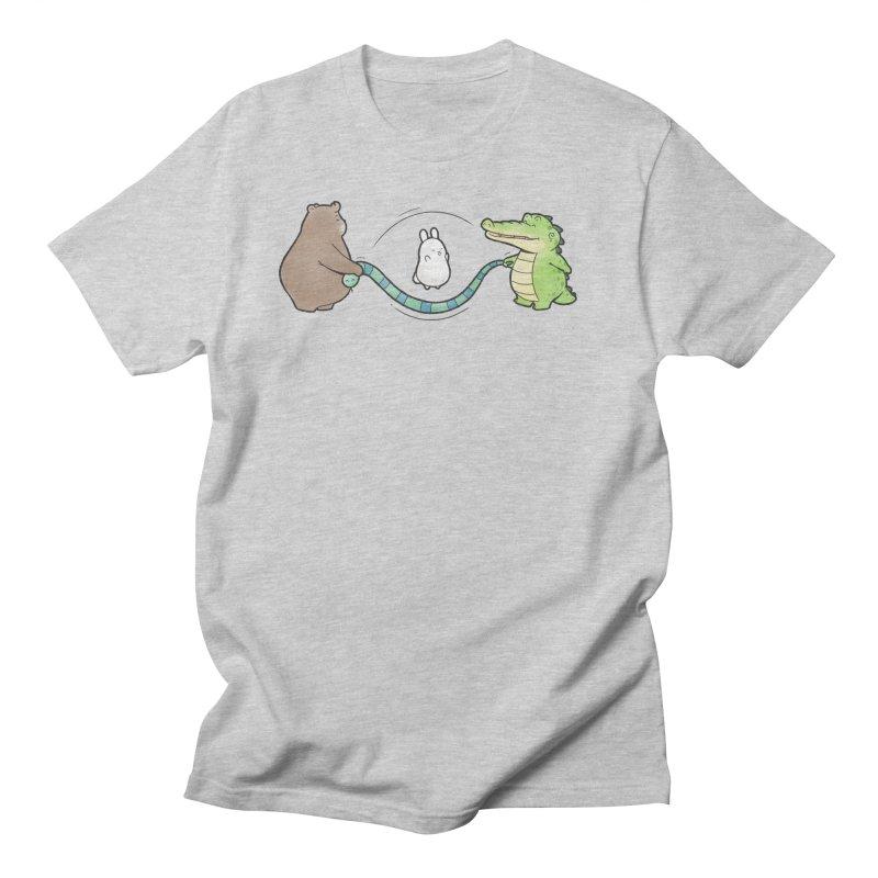 Buddy Gator - Jumping Rope, Snake Men's T-Shirt by Buddy Gator's Artist Shop