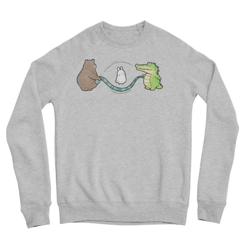 Buddy Gator - Jumping Rope, Snake Men's Sweatshirt by Buddy Gator's Artist Shop