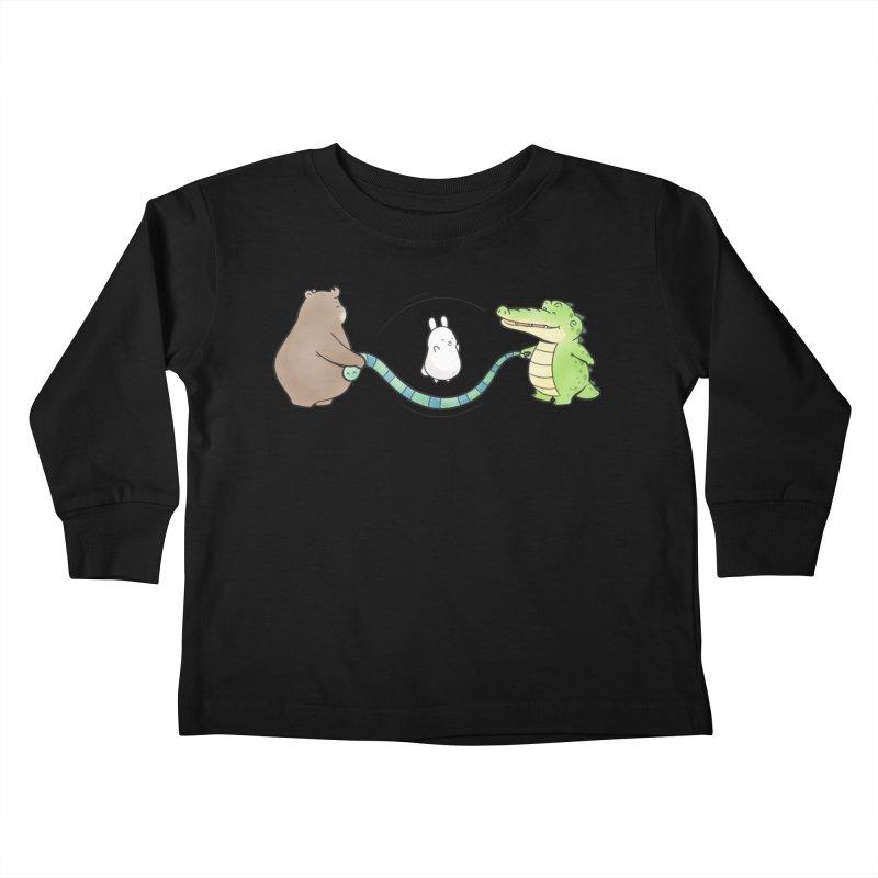 Buddy Gator - Jumping Rope, Snake Kids Toddler Longsleeve T-Shirt by Buddy Gator's Artist Shop