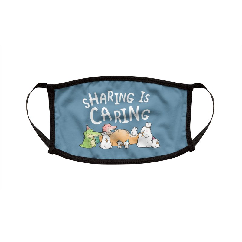 Buddy Gator - Sharing Is Caring Accessories Face Mask by Buddy Gator's Artist Shop