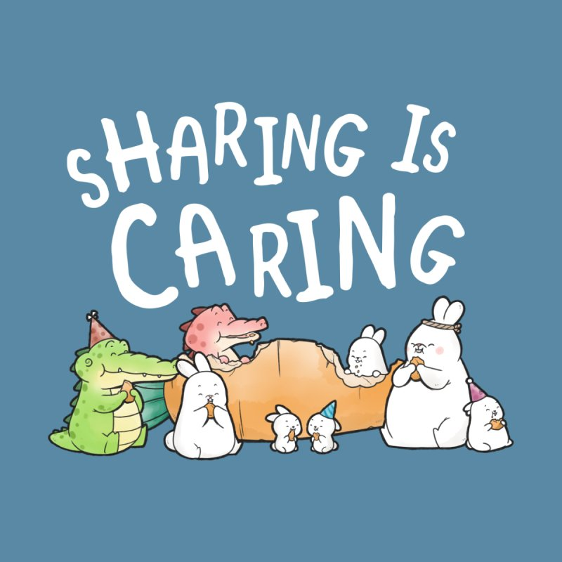 Buddy Gator - Sharing Is Caring Men's T-Shirt by Buddy Gator's Artist Shop