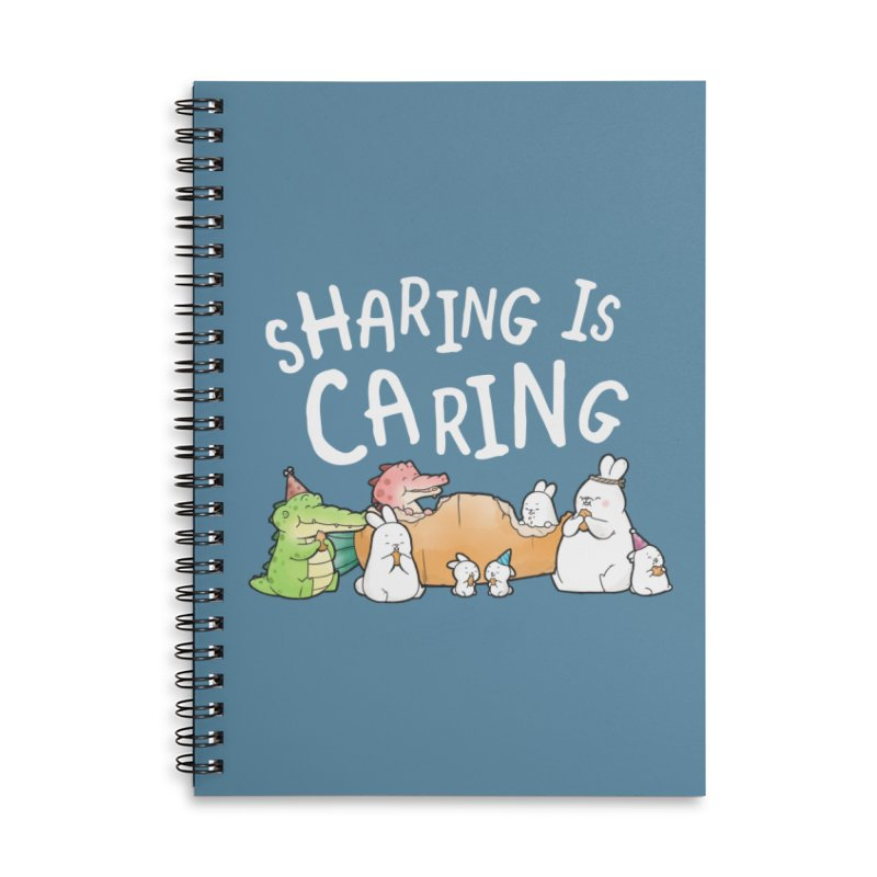 Buddy Gator - Sharing Is Caring Accessories Notebook by Buddy Gator's Artist Shop