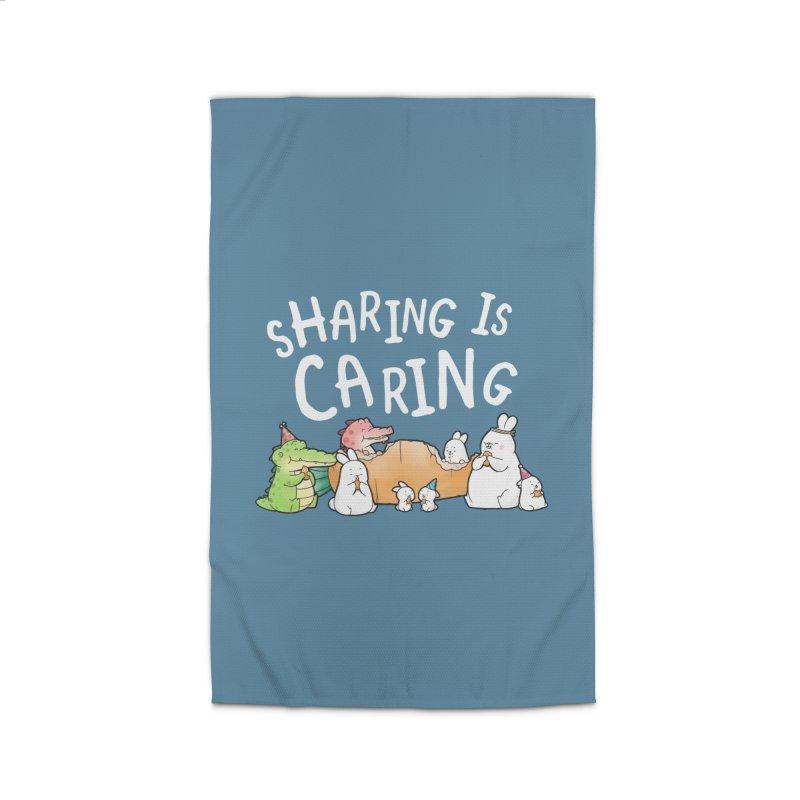 Buddy Gator - Sharing Is Caring Home Rug by Buddy Gator's Artist Shop