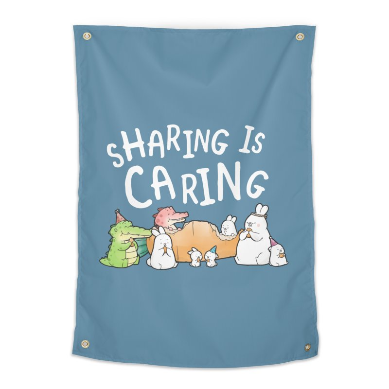 Buddy Gator - Sharing Is Caring Home Tapestry by Buddy Gator's Artist Shop