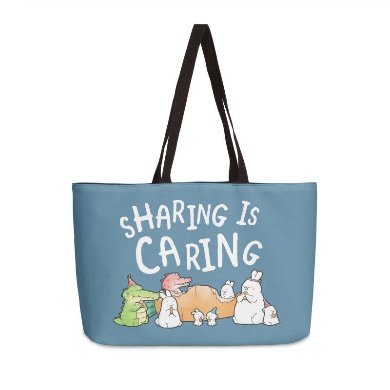 Buddy Gator - Sharing Is Caring Accessories Bag by Buddy Gator's Artist Shop