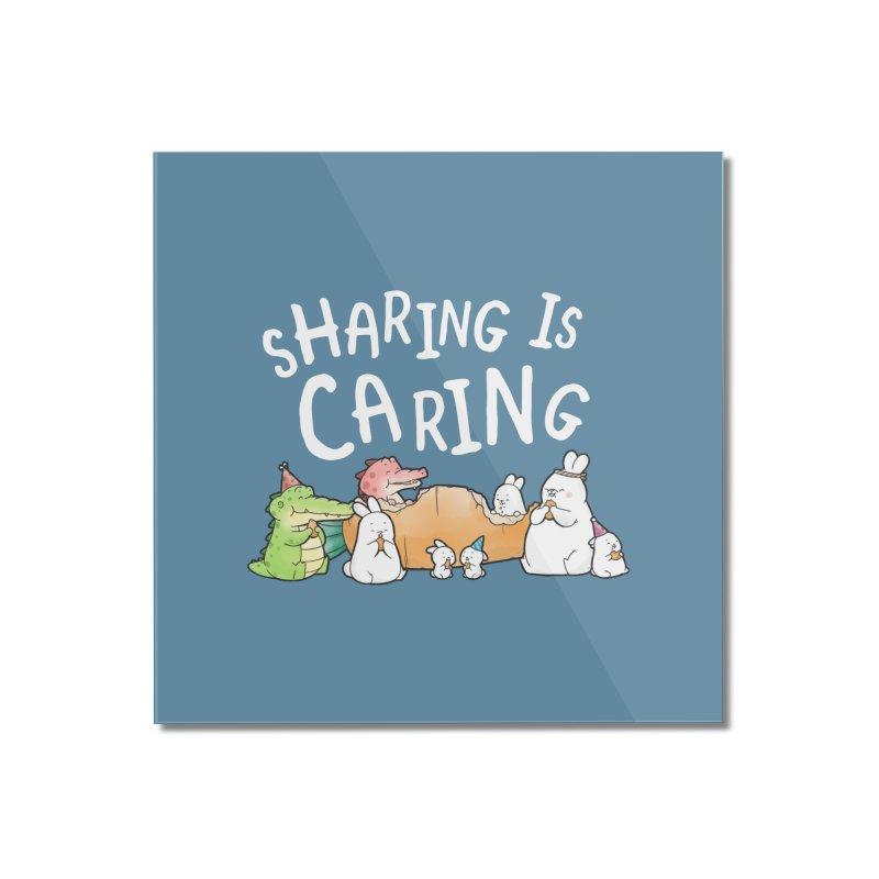 Buddy Gator - Sharing Is Caring Home Mounted Acrylic Print by Buddy Gator's Artist Shop