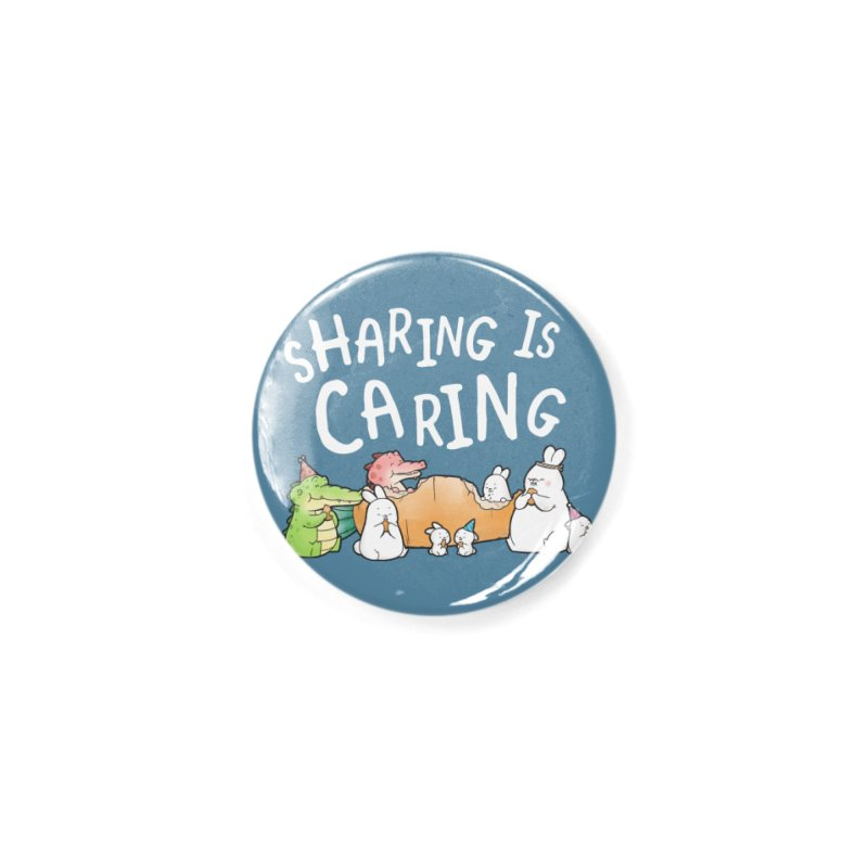 Buddy Gator - Sharing Is Caring Accessories Button by Buddy Gator's Artist Shop