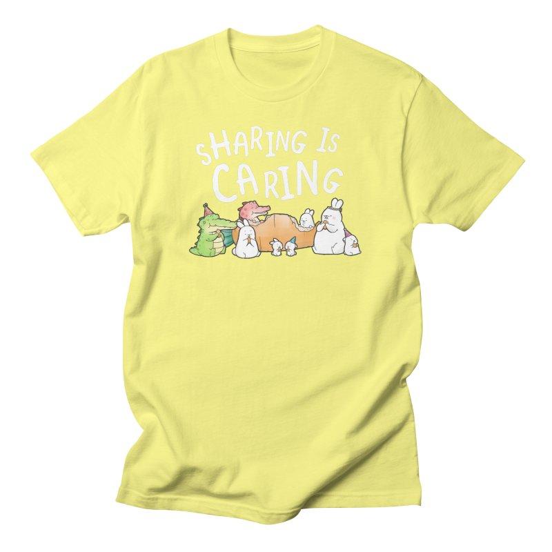 Buddy Gator - Sharing Is Caring Men's T-Shirt by Buddy Gator's Artist Shop