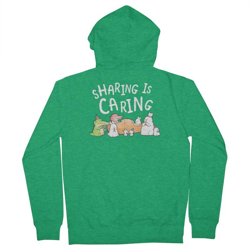 Buddy Gator - Sharing Is Caring Women's Zip-Up Hoody by Buddy Gator's Artist Shop